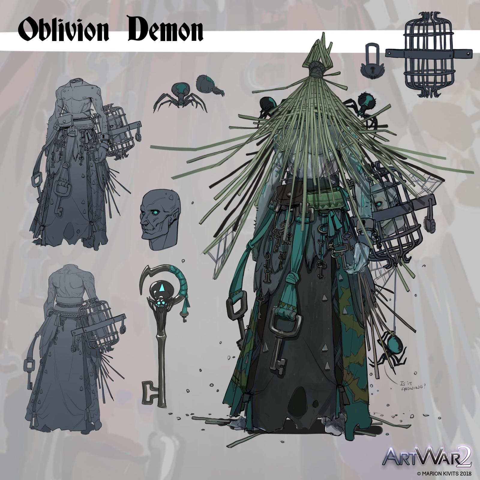 Oblivion Demon