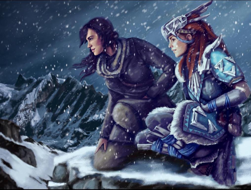 Lara and Aloy