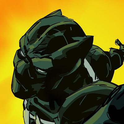 Geraldo borges black panther color