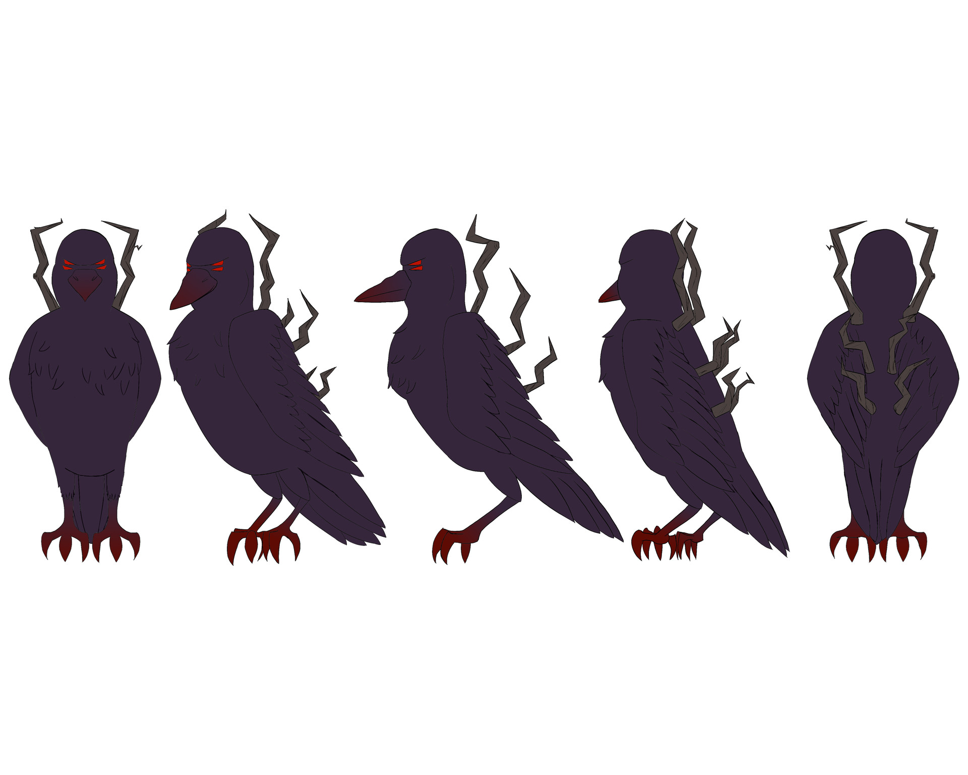 Josue canales demon crow turnaround
