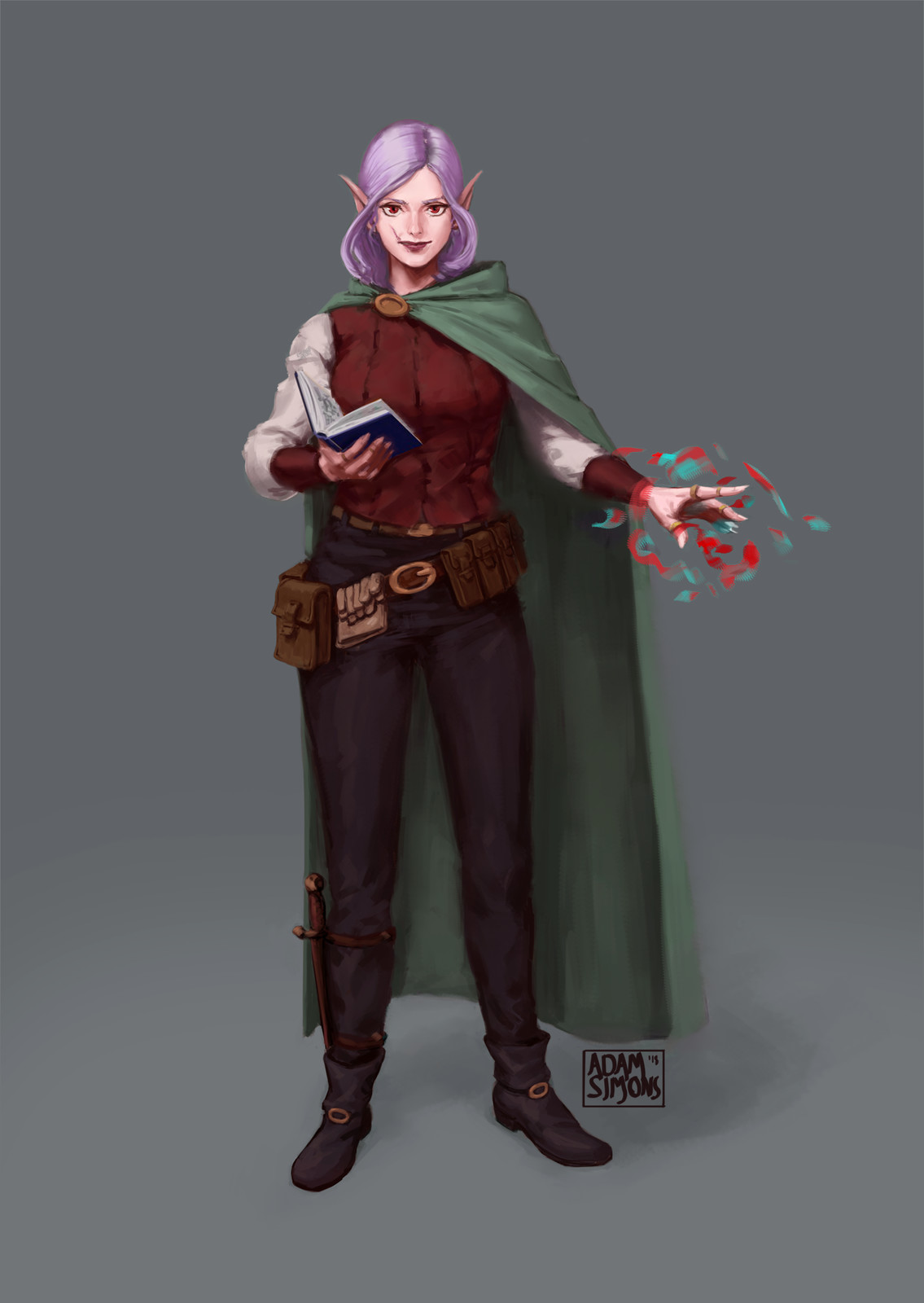 Elf sorceress