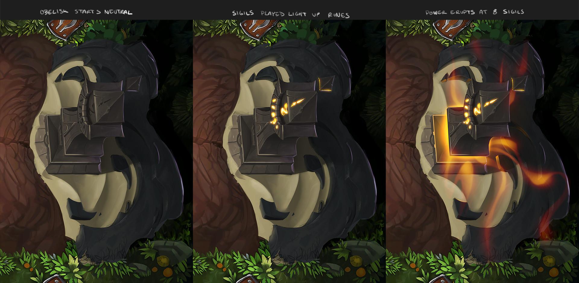 Xenan Obelisk Totem Concept