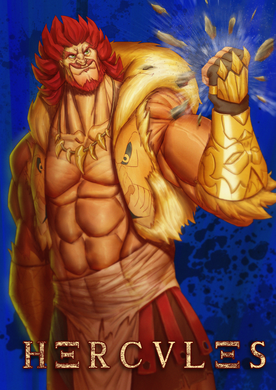 Timothy De Guzman Gods Greek Demi God Hercules