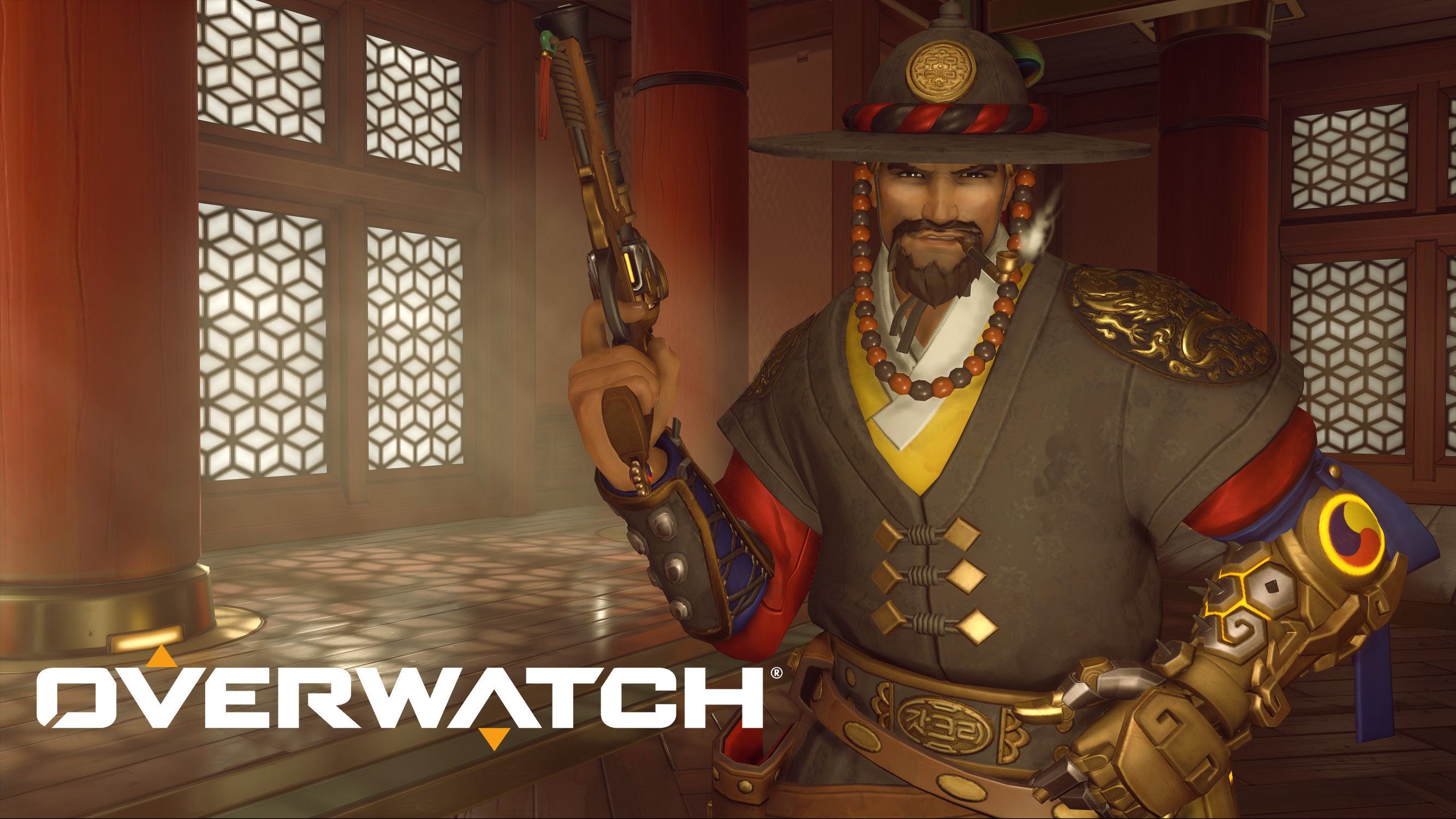 Magistrate McCree | Overwatch Lunar New Year Festival | Year of the Dog 2018