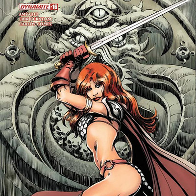 Tom mandrake red sonja 16