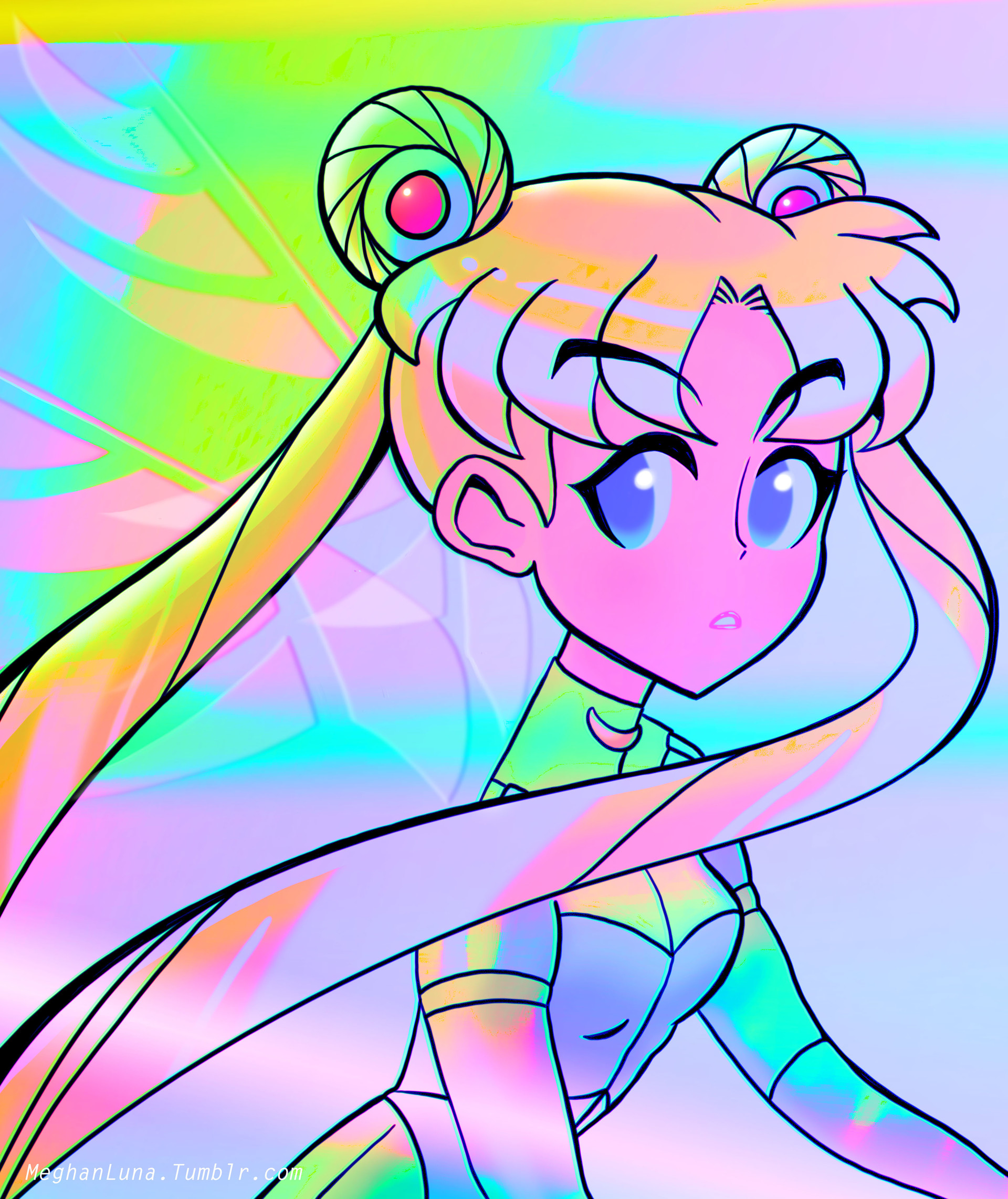Sailor Moon Luna Tumblr