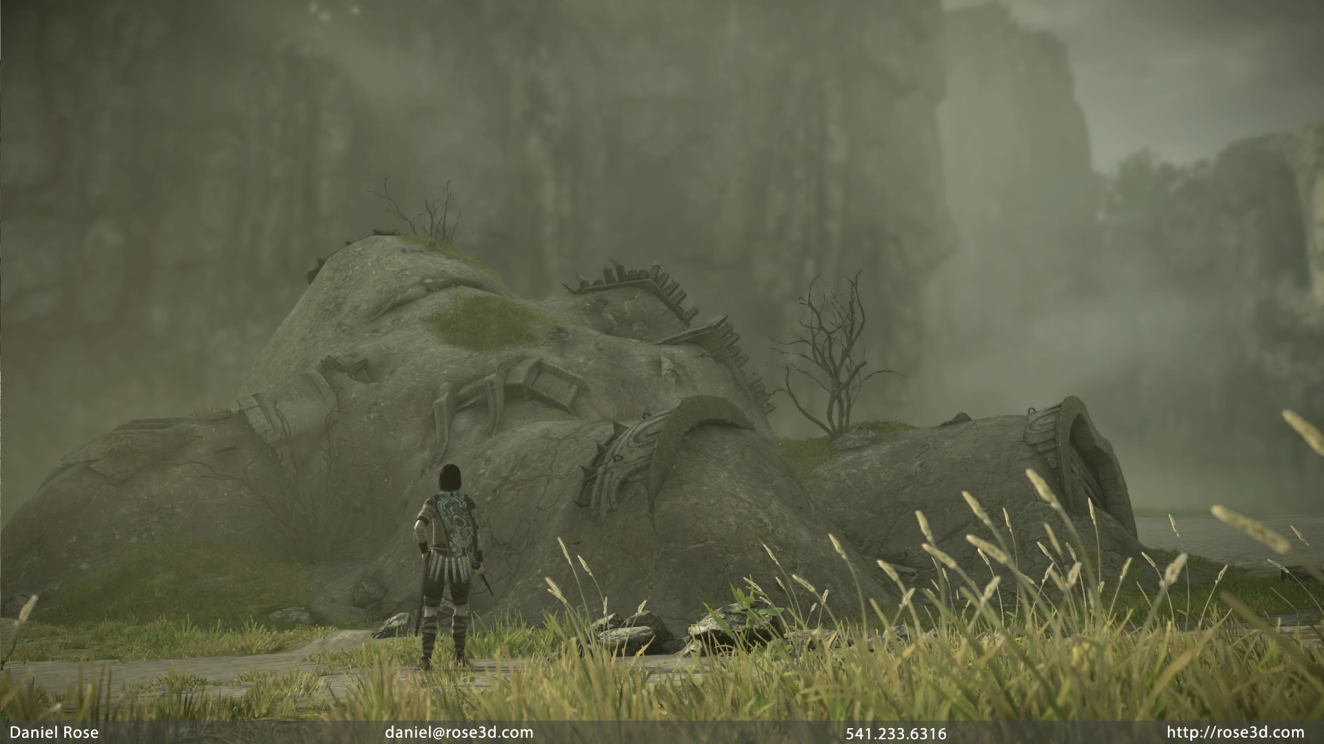 I also created a handful of the Colossi Corpses.  Corpses had a unique set of challenges. Colossus 01 is here.
