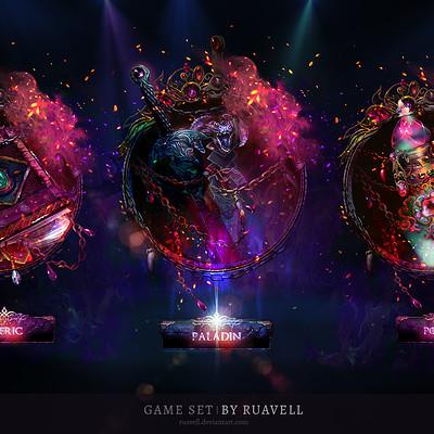 Viktoria ruavell magic set