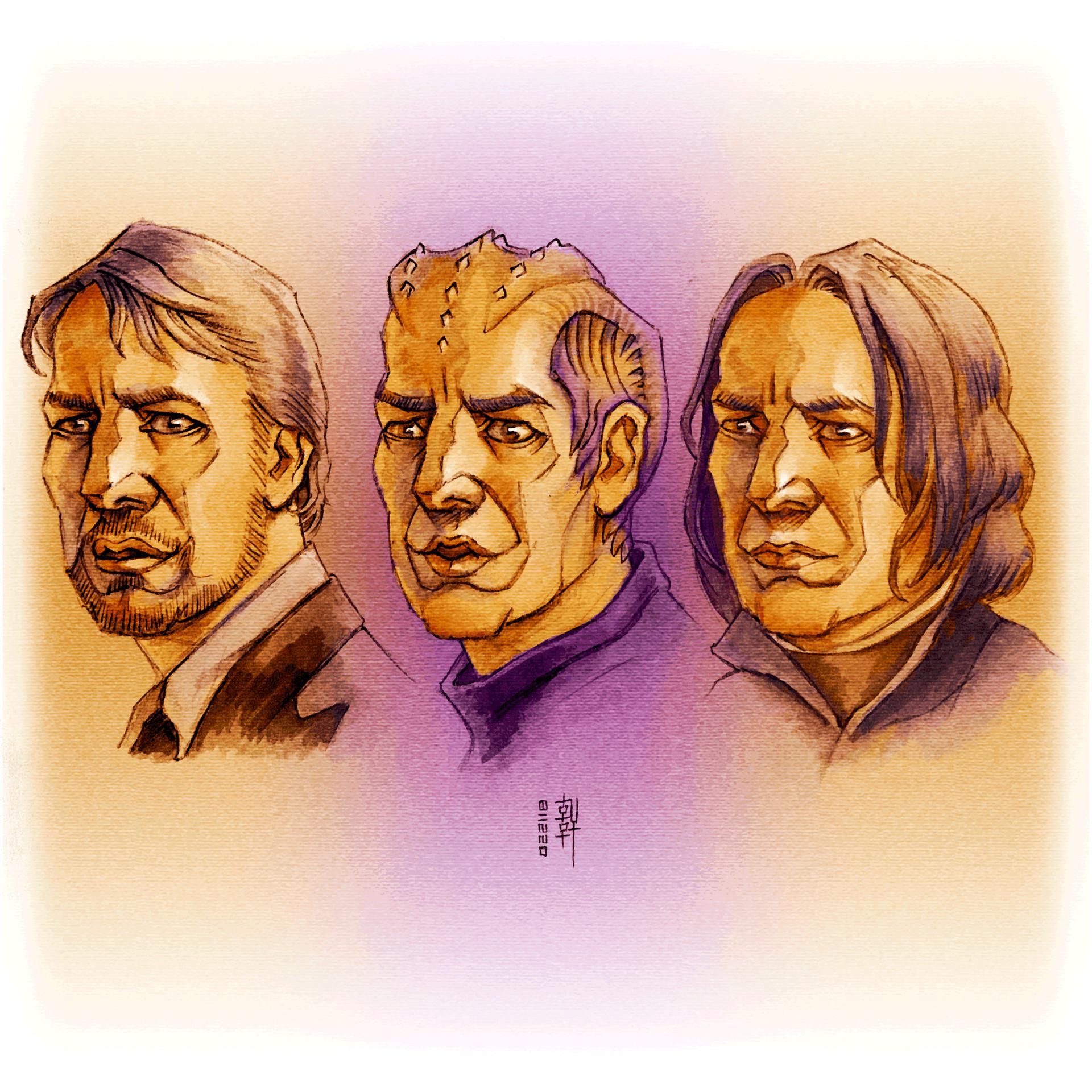 Day #15,154 - Gruber, Lazarus, Snape