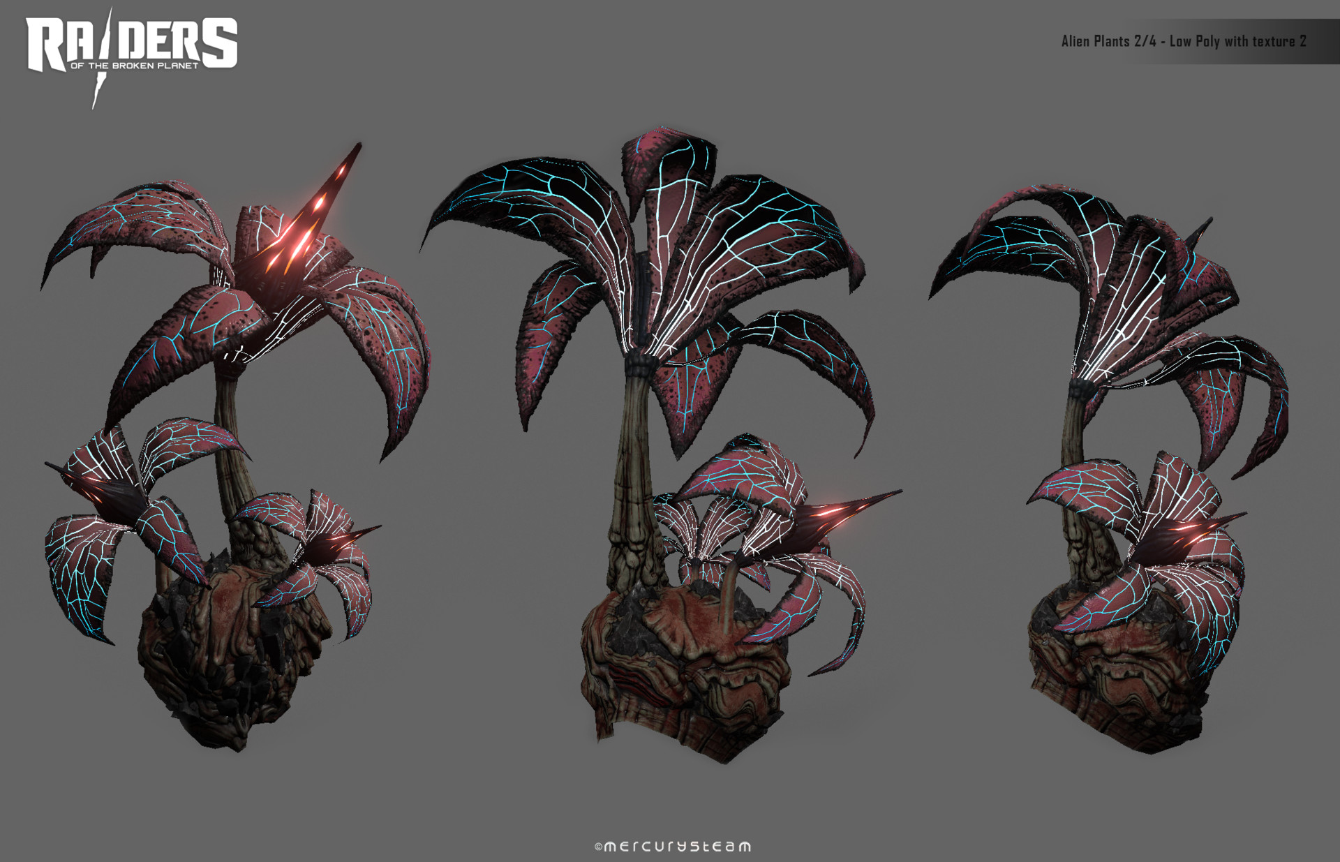 ArtStation - Alien Plants 2/2, Xose Geada