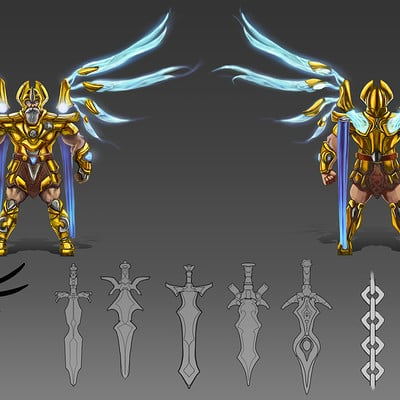 Danny kundzinsh art war archangel concept sheet final