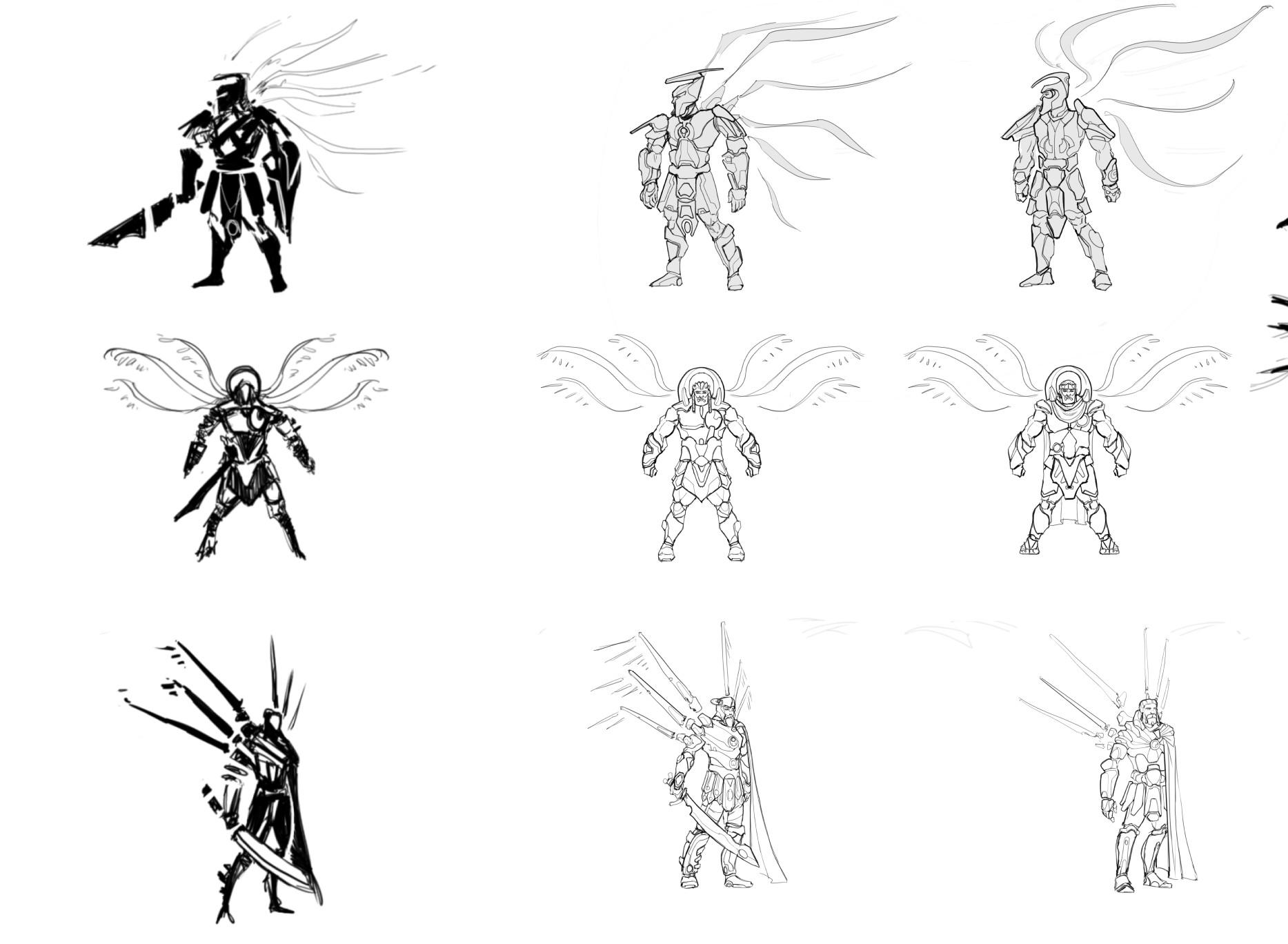 Danny kundzinsh art war archangel concept wip3
