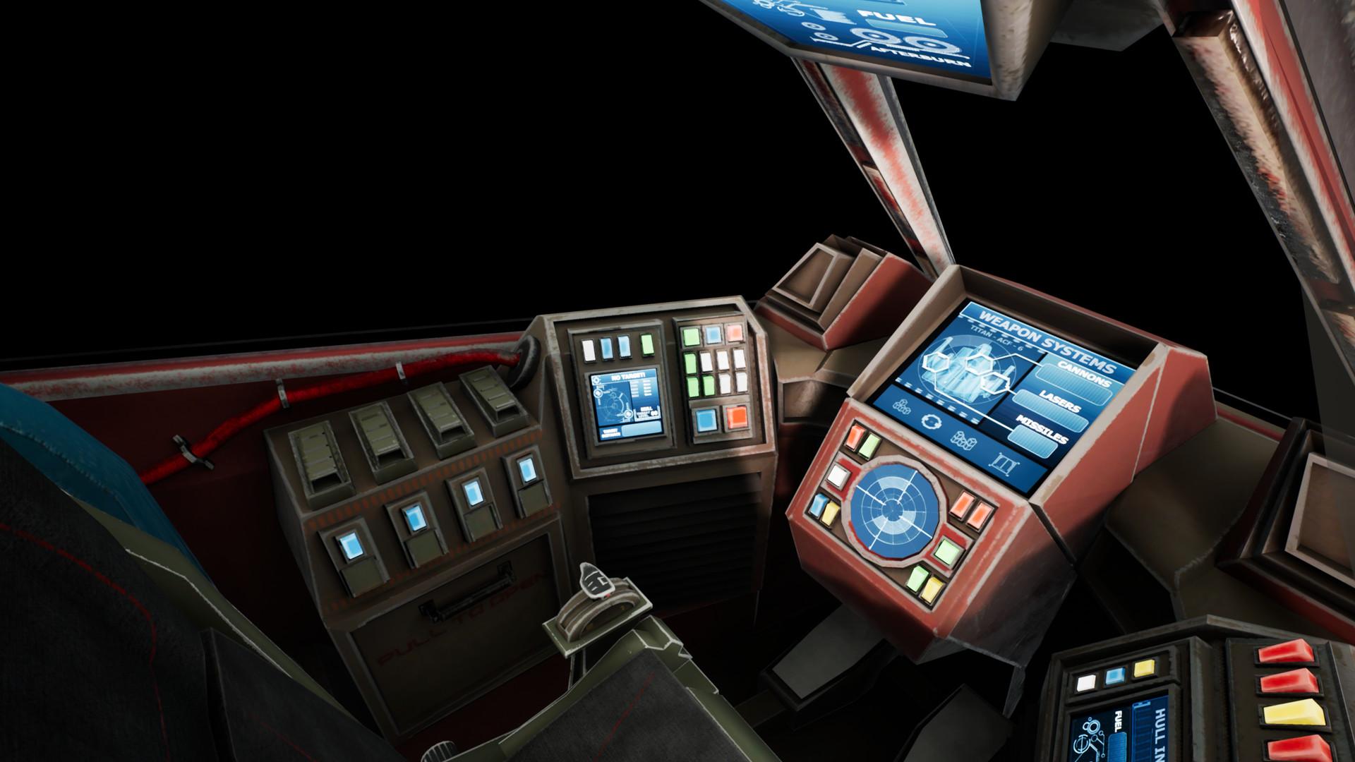 ArtStation - Space Fighter Cockpit - Starfighter, Shaun Williams
