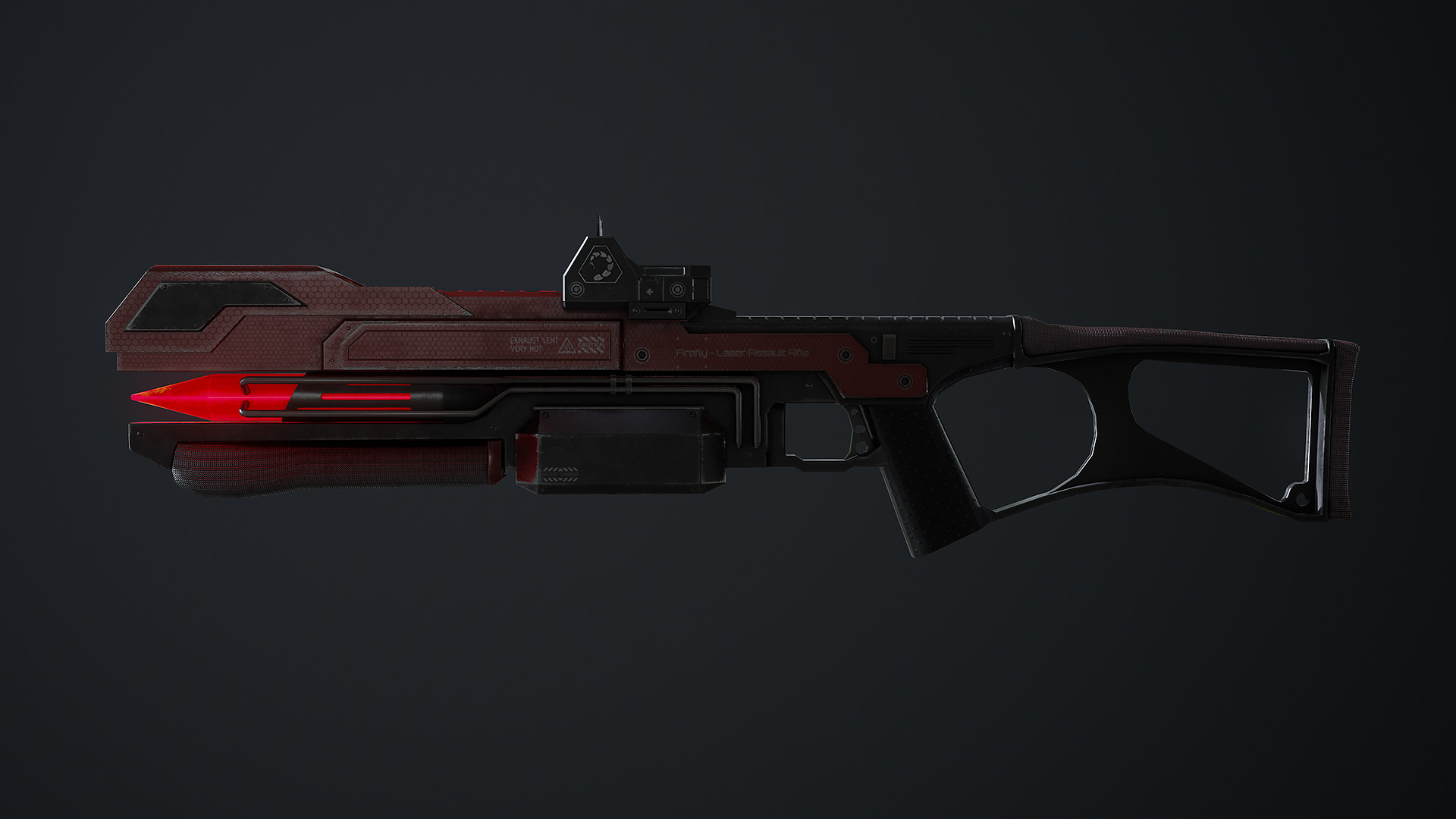 Waqas iqbal rx laserrifle render 06