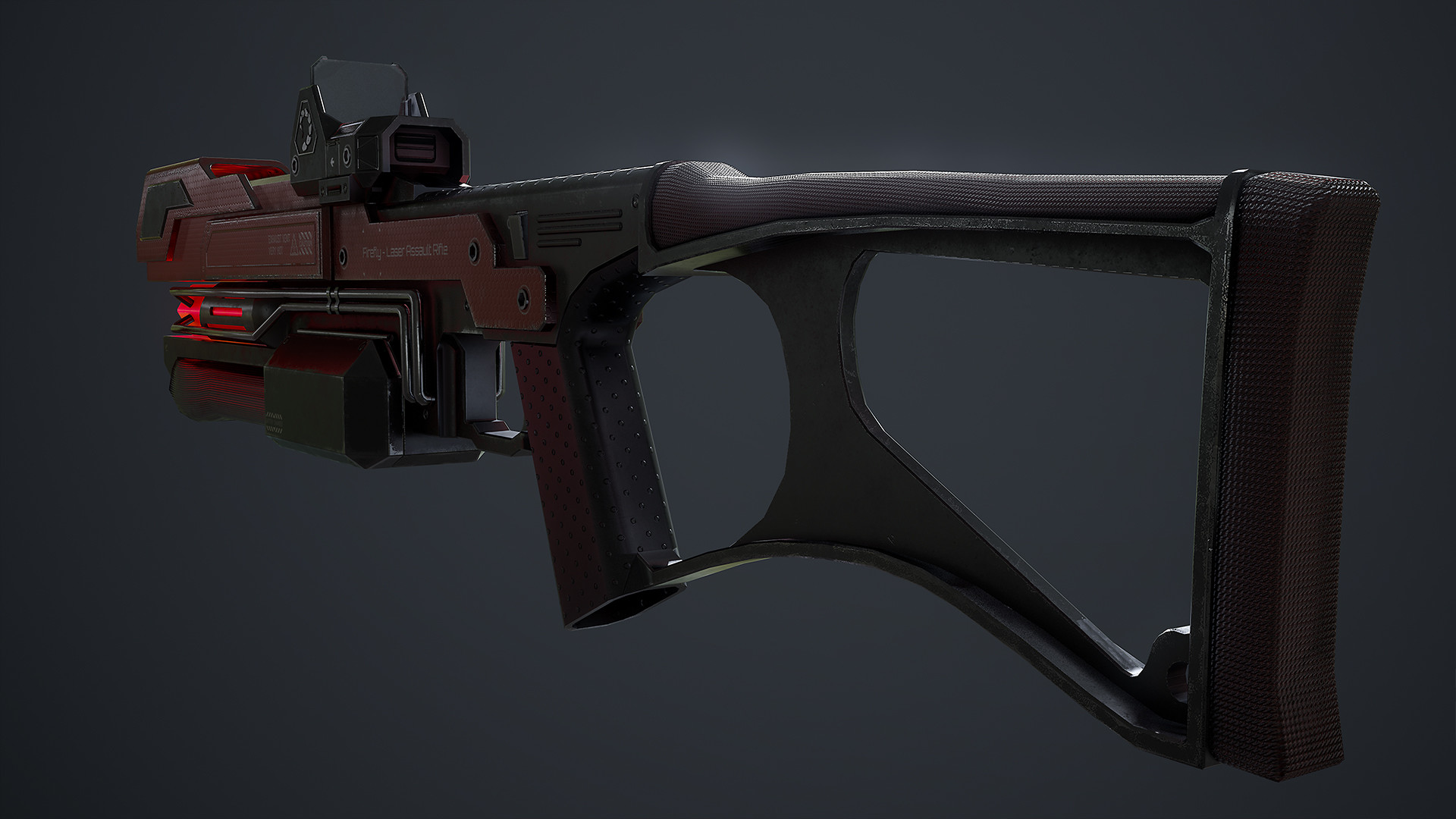 Waqas iqbal rx laserrifle render 05