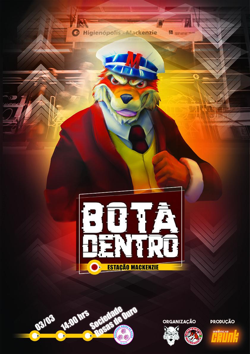 b899739e9c5c1 ArtStation - Bota Dentro Mackenzie 2018
