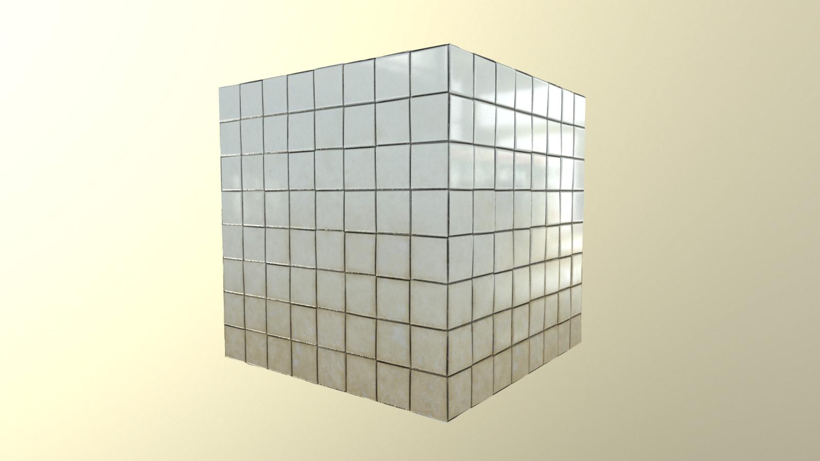 Porcelain tiles material