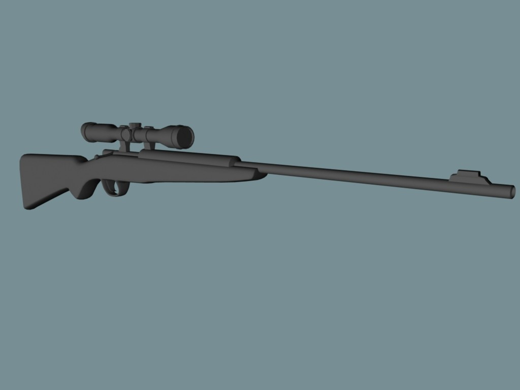 Jordan cameron rifle shaded