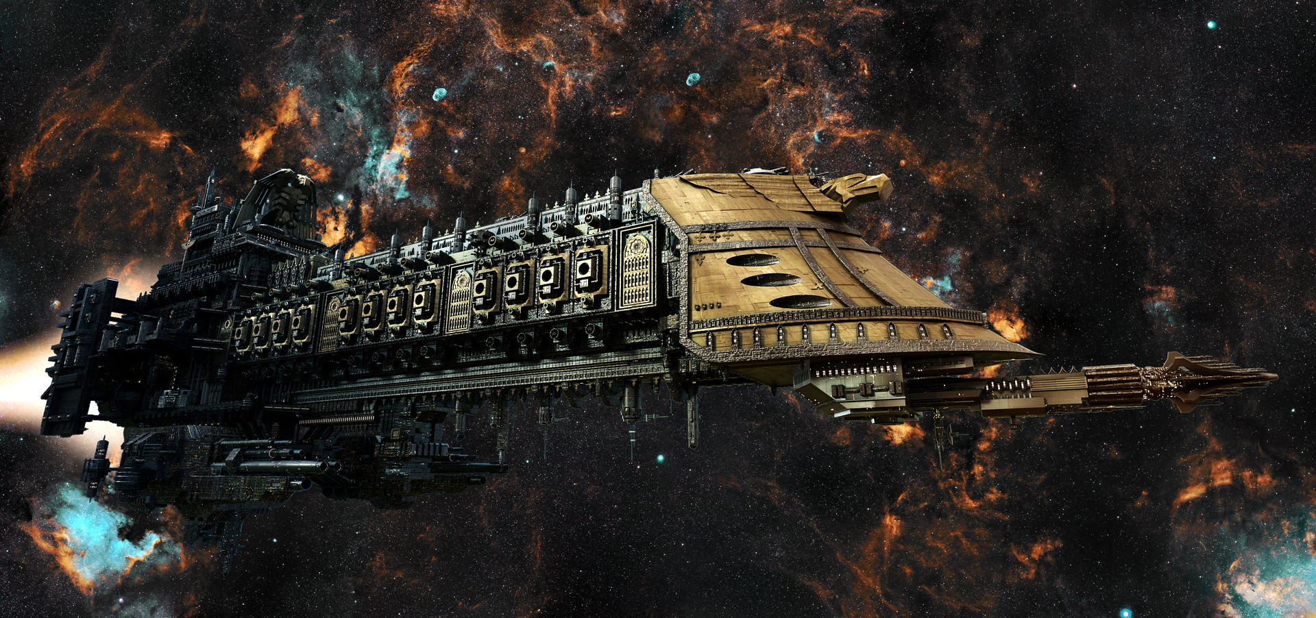 Image result for 40k battleship
