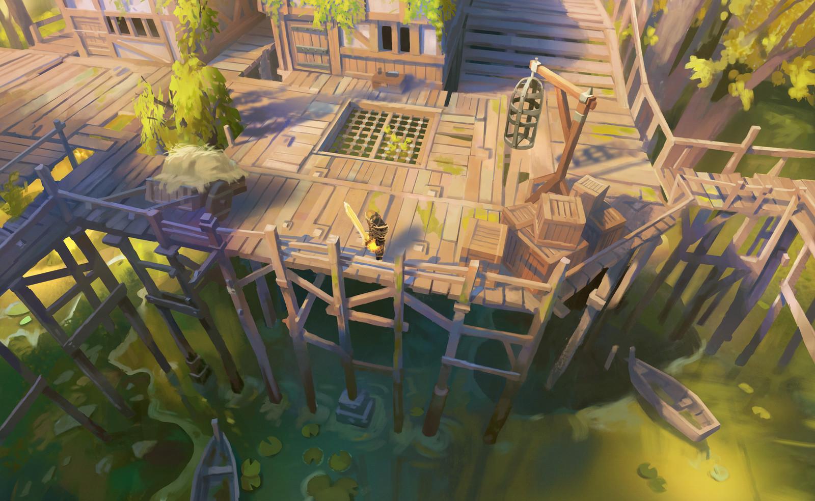 Dungeon Hunter - Village Docks - 2016