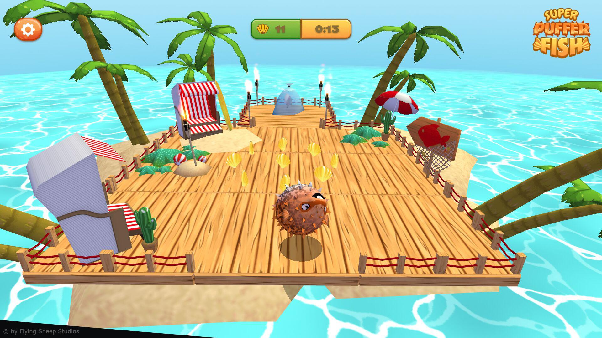 Marina hahn pufferfish screenshot 3