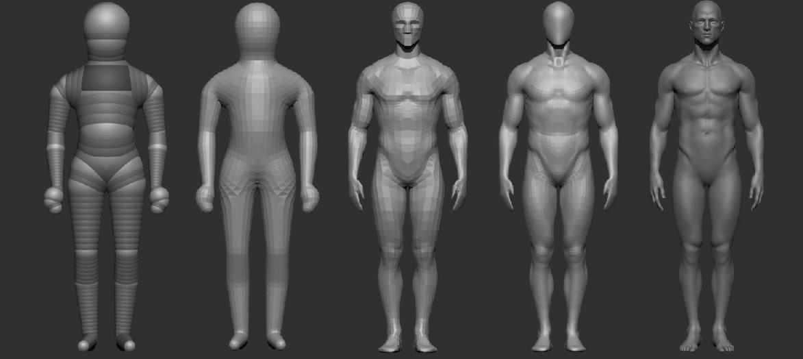 Oleg Tarkhov - Male Anatomy Study