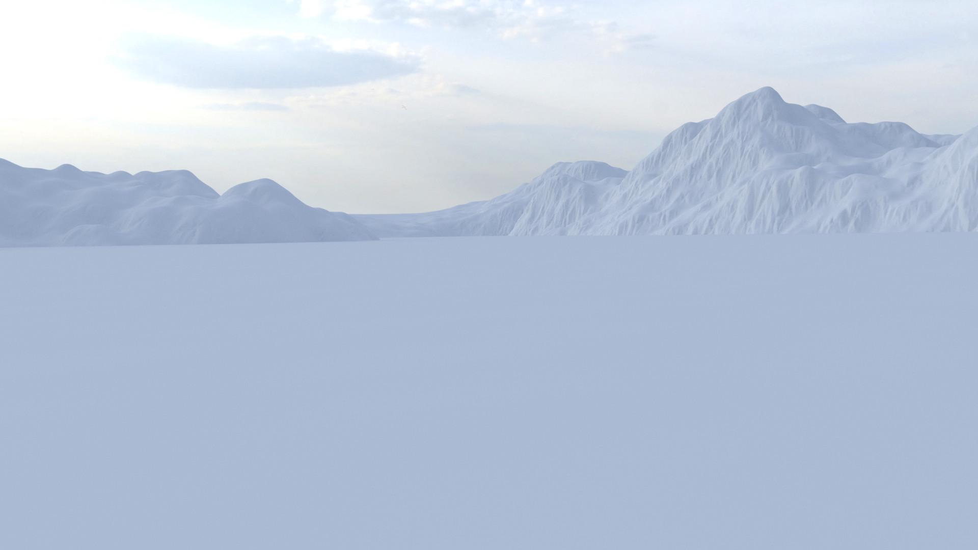 Greg hewitt mountainsclayrender