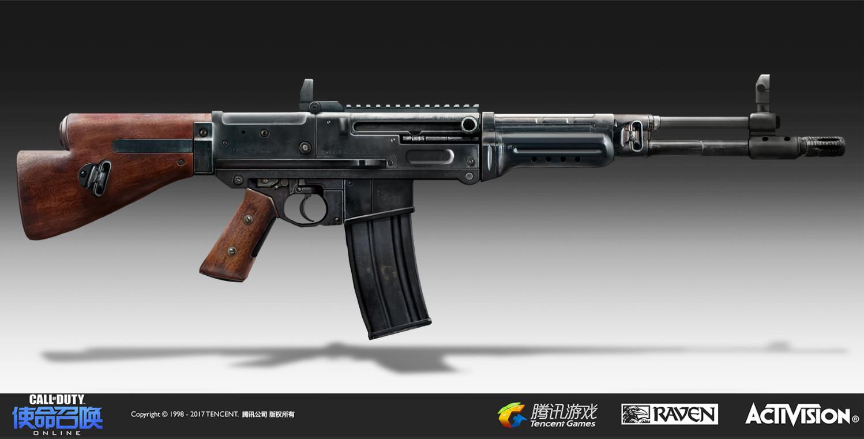 Artstation Mcs World War 2 Weapon Skin Wesley Tippetts