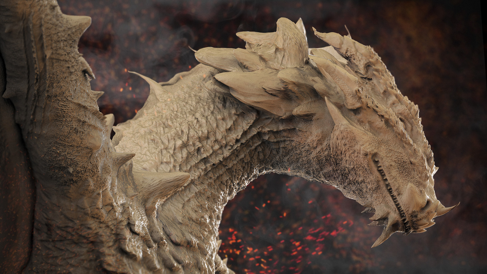 Wyvern 龙 - First Zbrush Sculpt