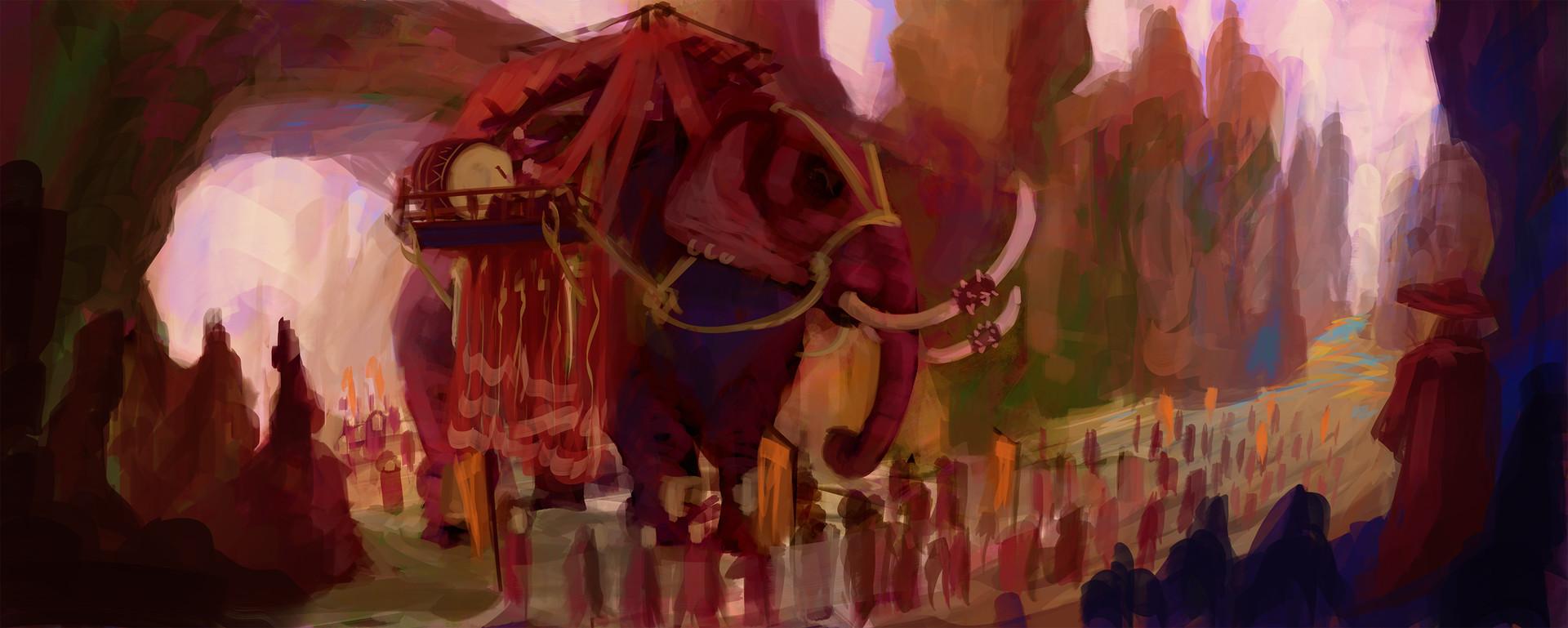Jack dowell war elephant finished no 1 s