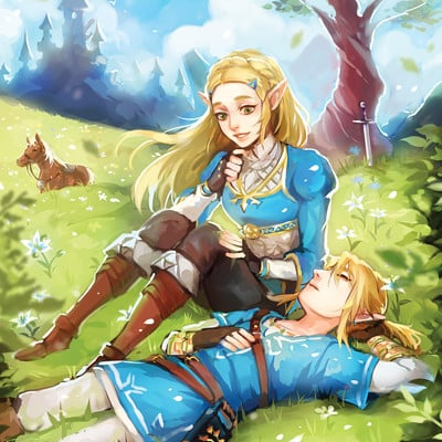 Arichana murugananthan loz breath of the wild by ariuemi dbgu24w
