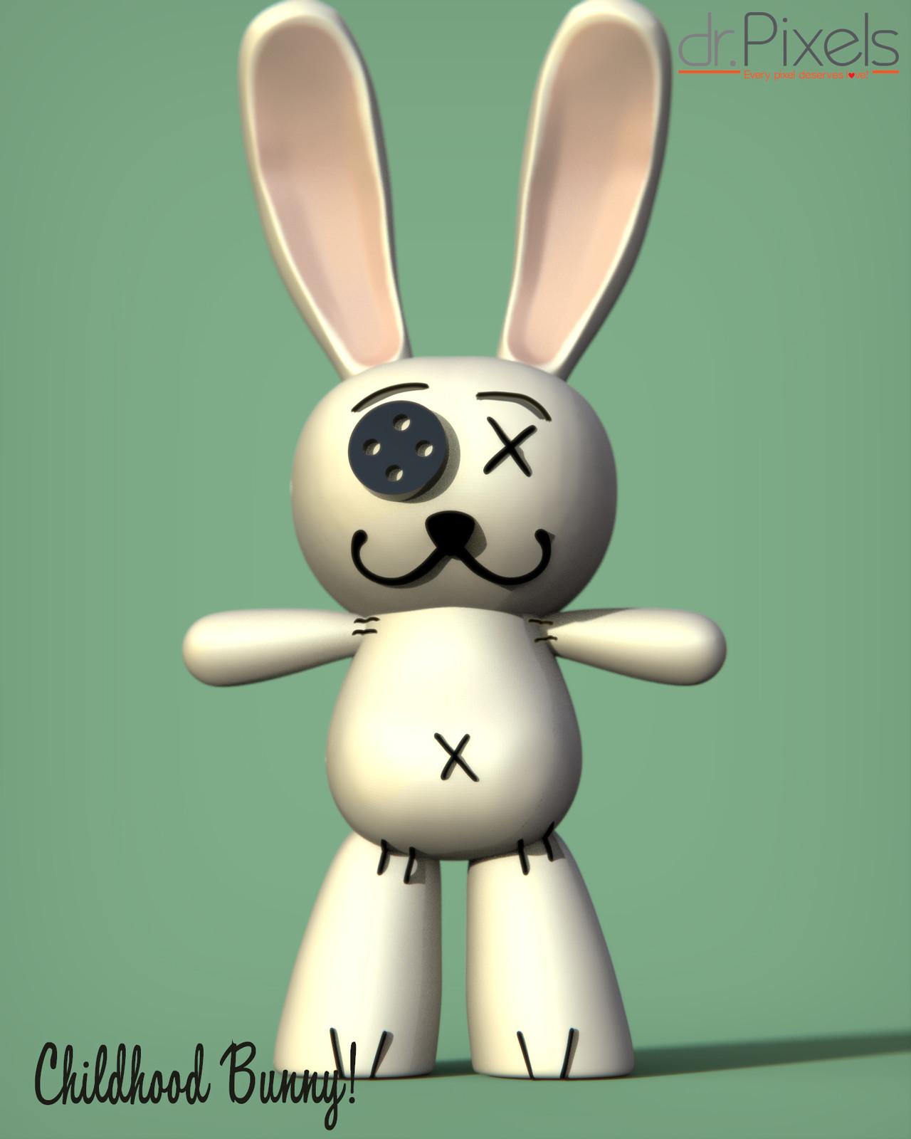 Childhood bunny