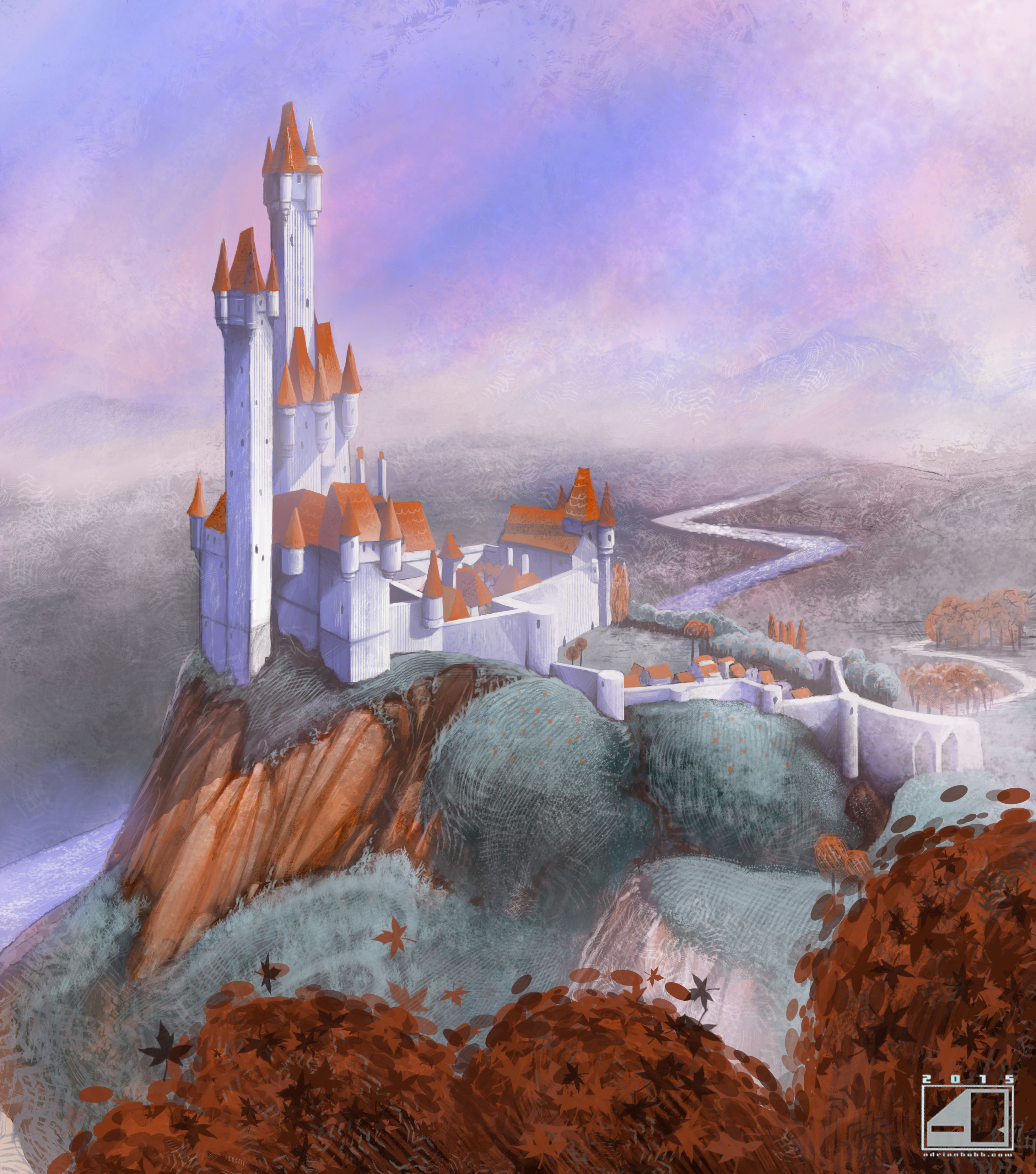 """A concept for an indie CGI """"Storybook"""" movie."""