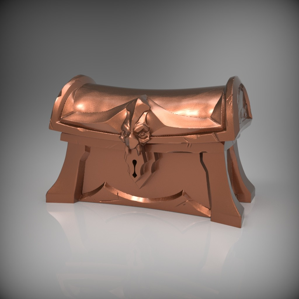 Bronze Chest Sculpt