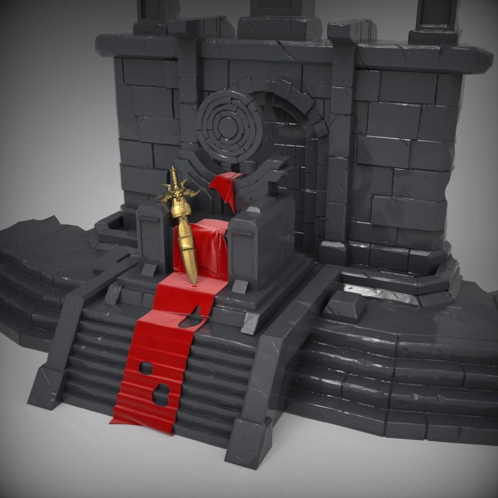 Eternal Throne Sculpt