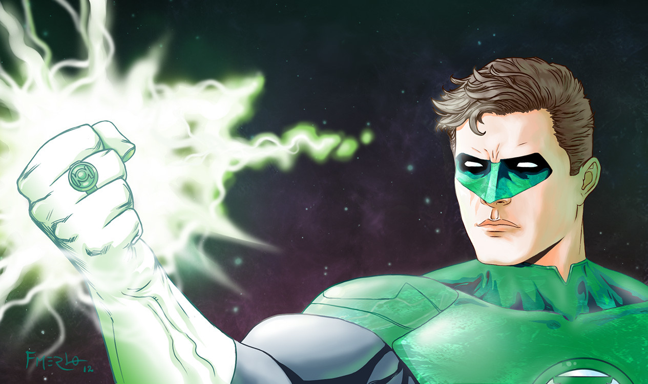 Fernando merlo green lantern new background