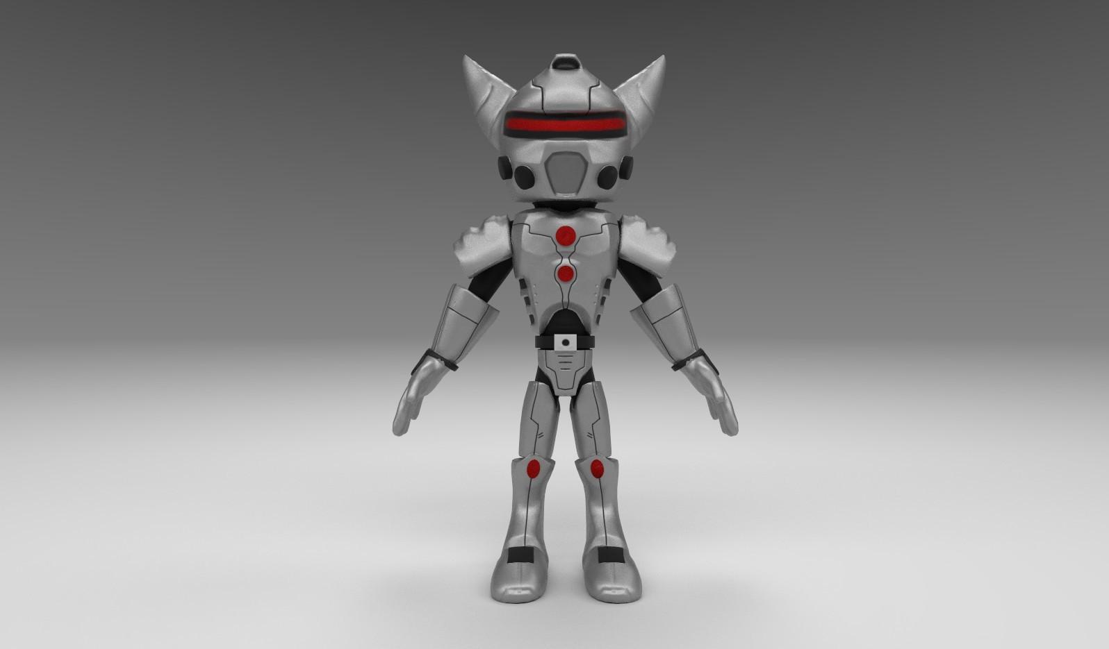 ArtStation - Ratchet 3D Model, David