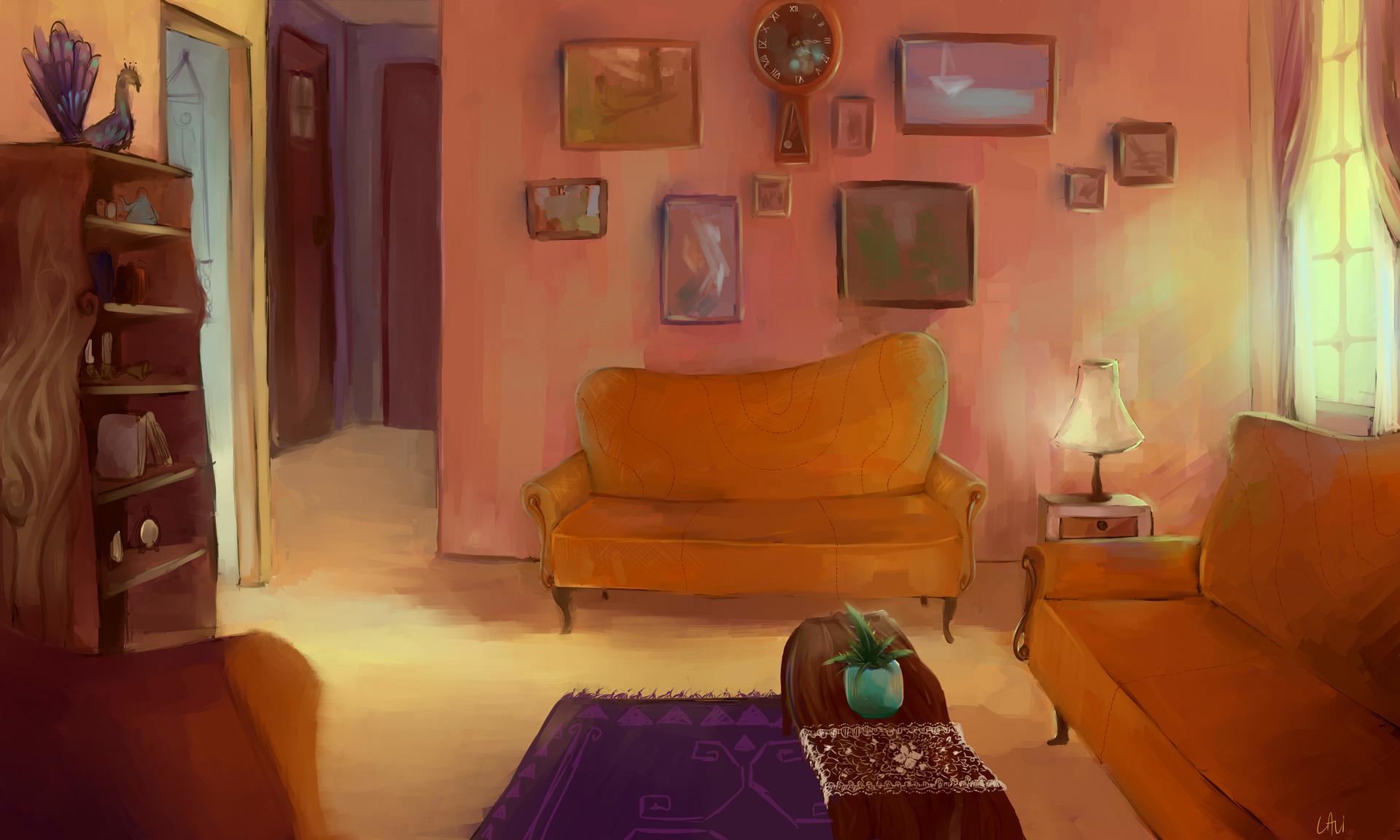 Meitar lavi living room scene polish