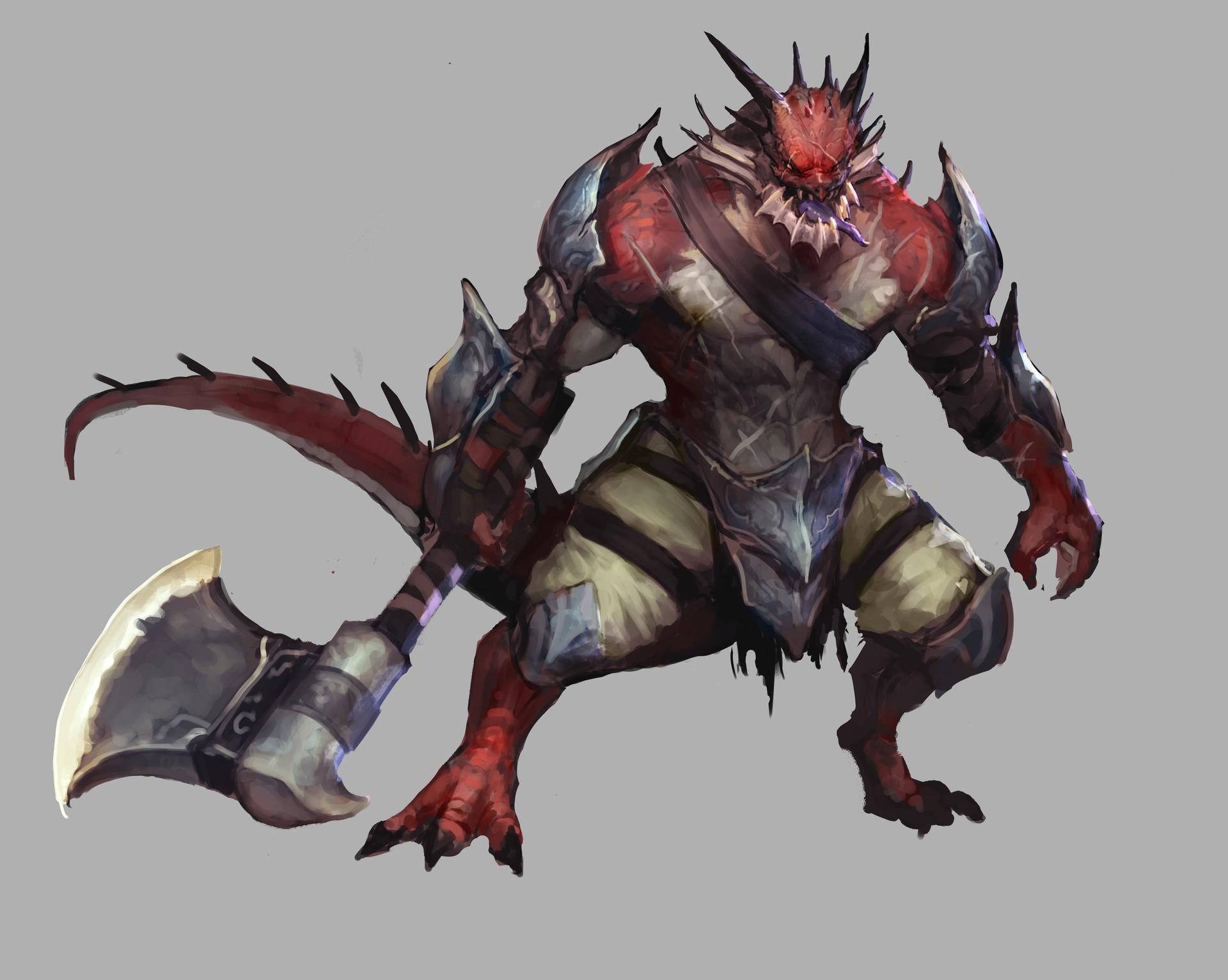 Jeff chen dragonborn barbarian