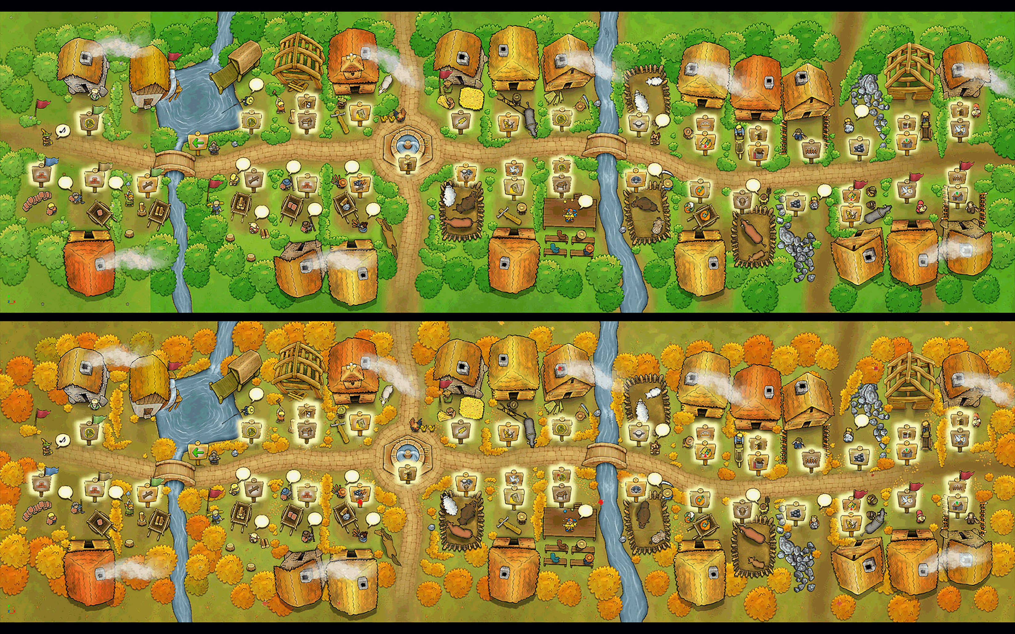 Agricola - The Town in Summer and Autumn