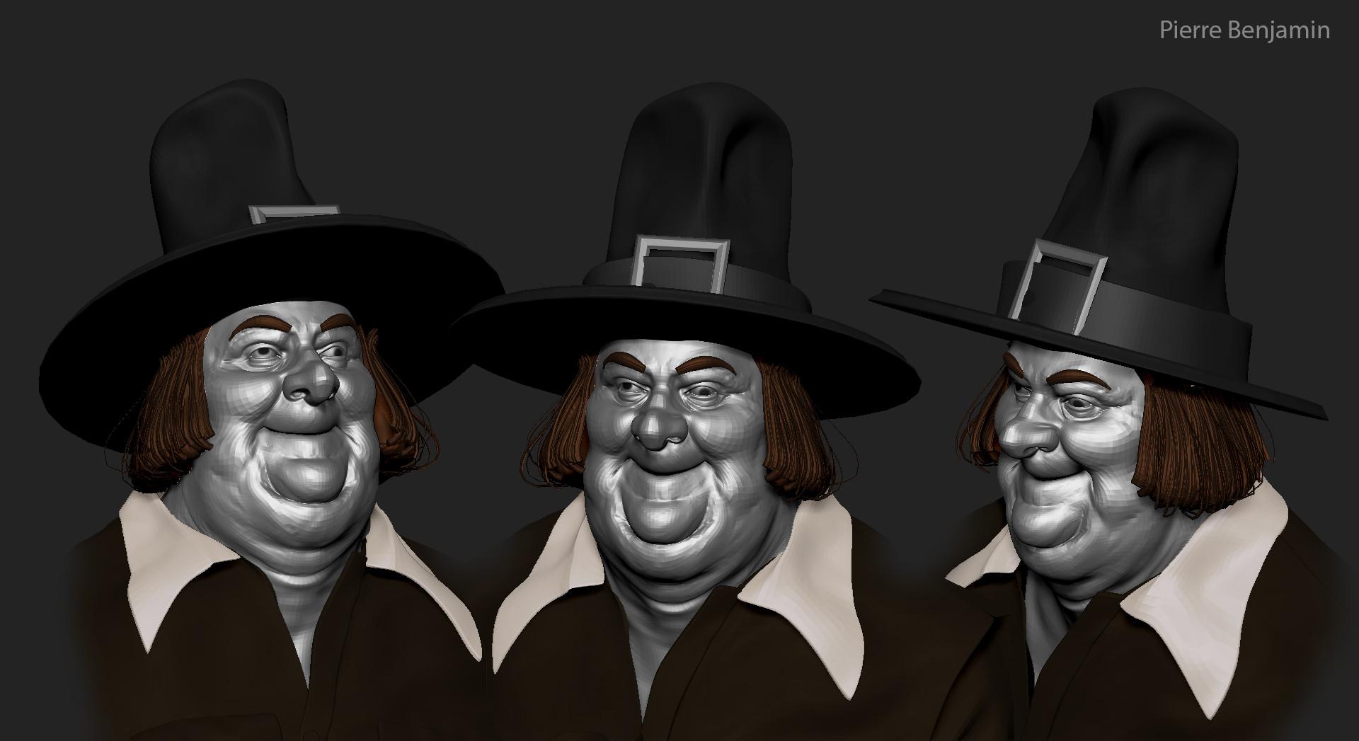 Pierre benjamin leyendecker fat sales man medieval