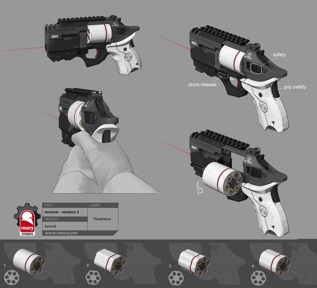 Ascend revolver - rmory studios