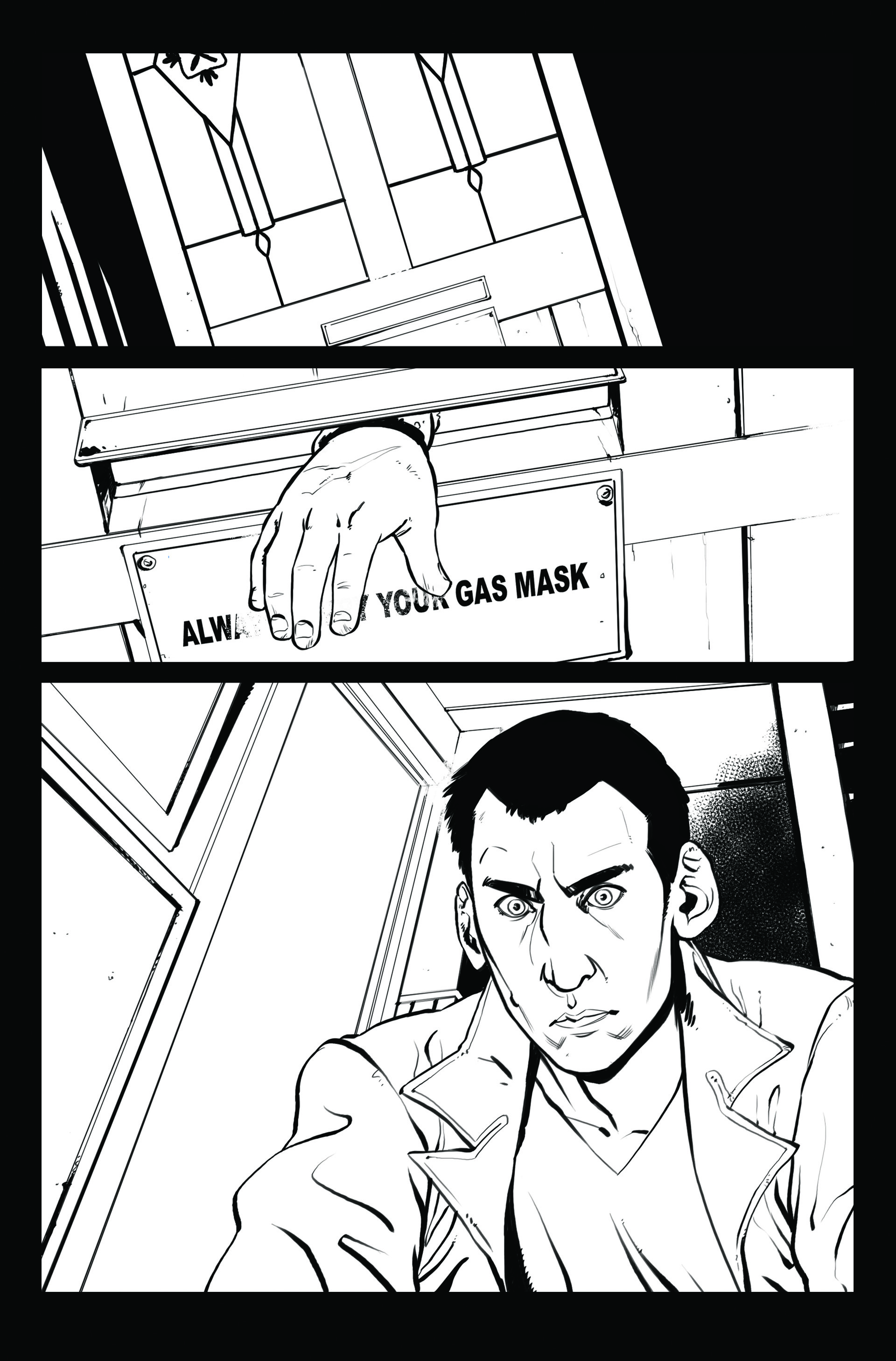 Claudia cocci doctor who page 04 line