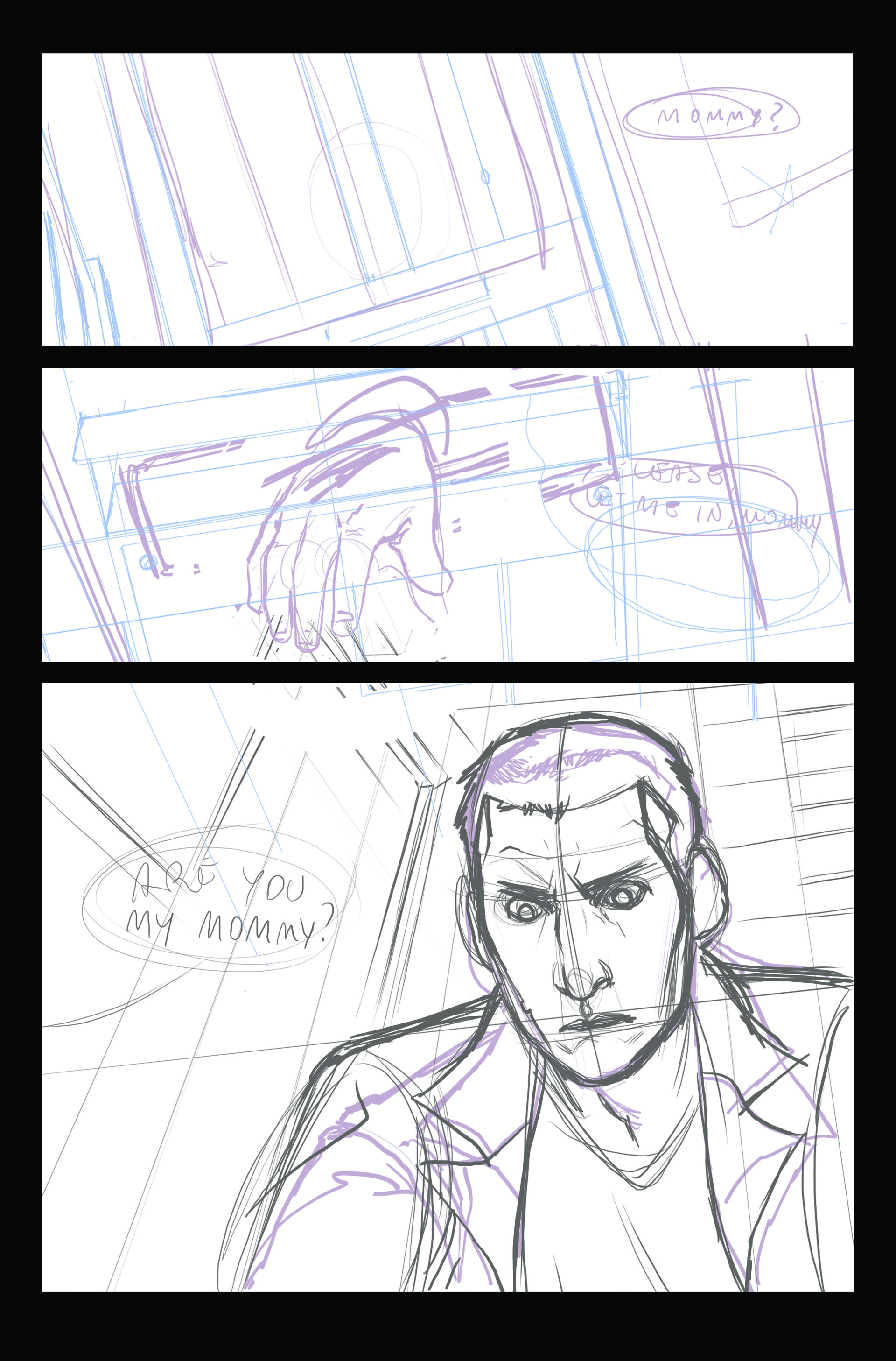 Claudia cocci doctor who page 04sketch