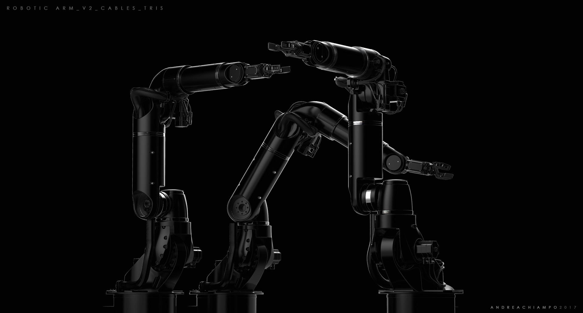 Andrea chiampo robotic arm v2 cables tris