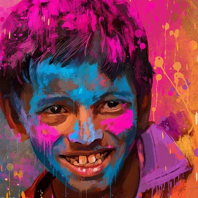 Mayank kumar festival of colors