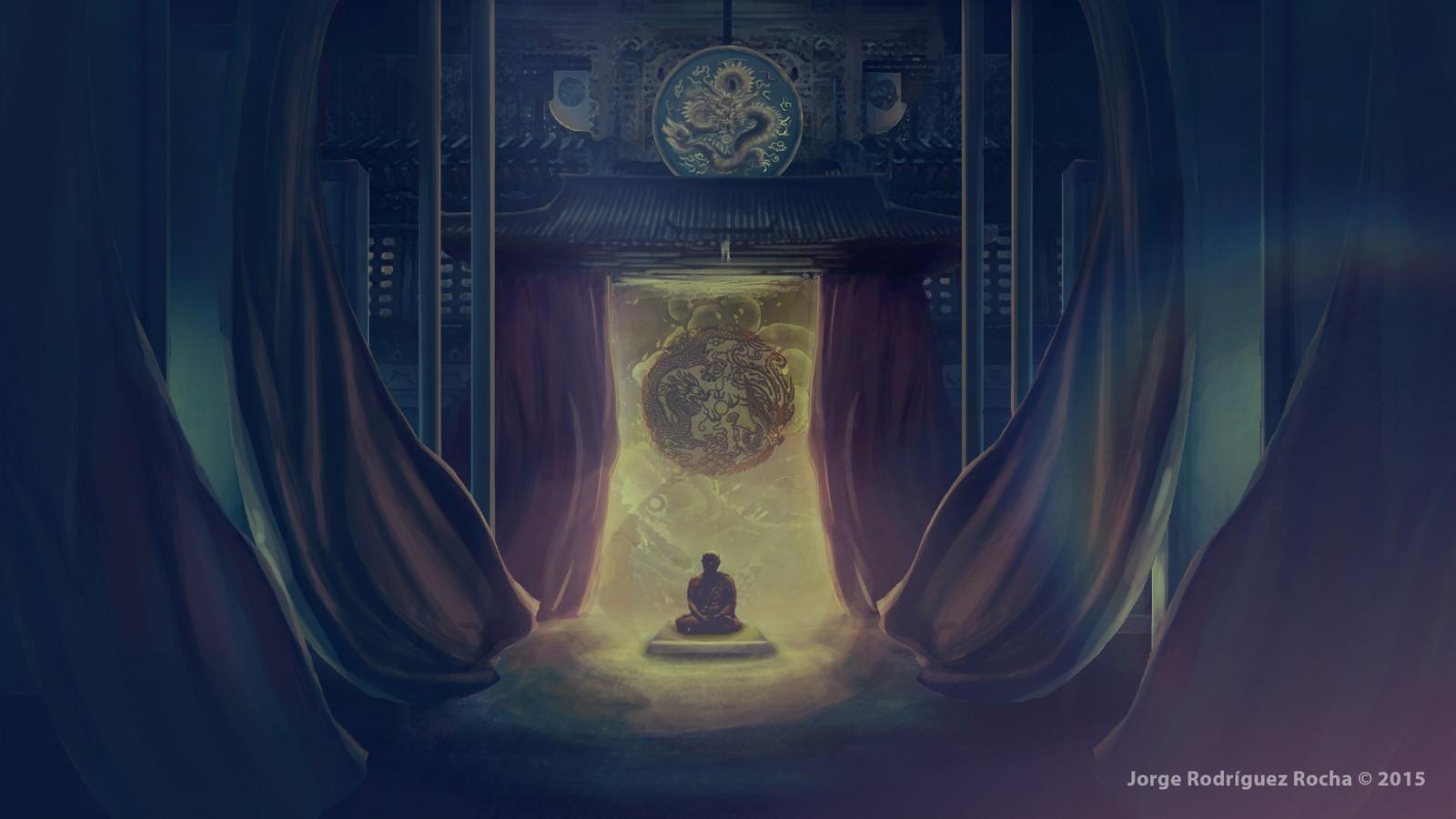 Temple Inbterior