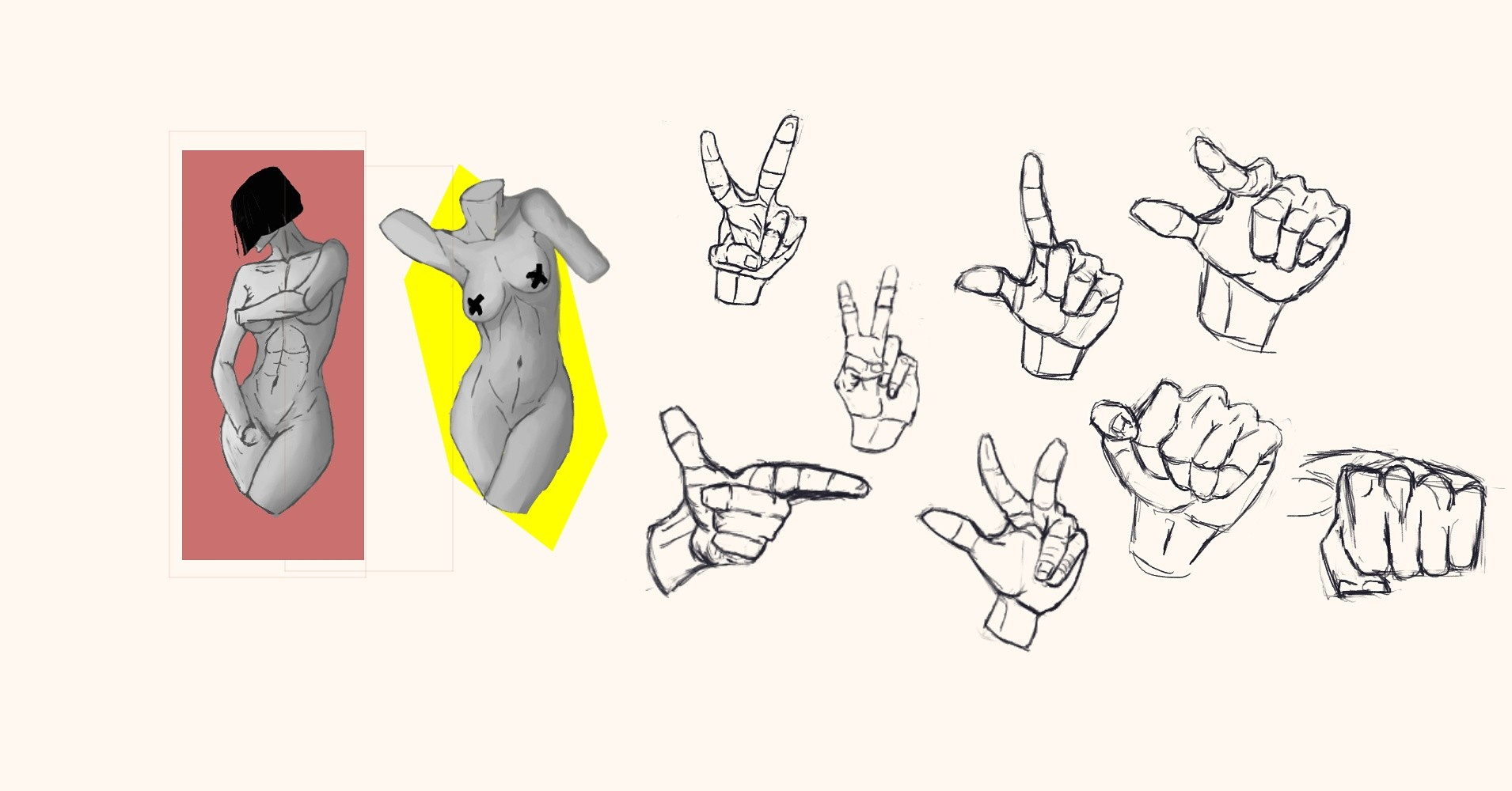 tefodraws Official - Study Anatomy Hands
