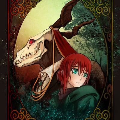 Angelica zurawski 180227 the ancient magus bride da