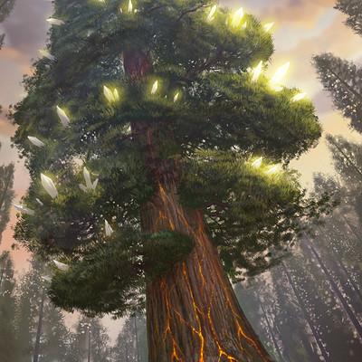 Martin de diego 4 crystal tree3 signed2